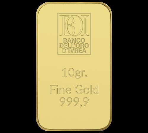 Lingotto 10 grammi oro al miglior prezzo