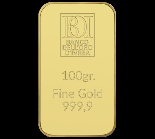Lingotto 100 grammi oro al miglior prezzo