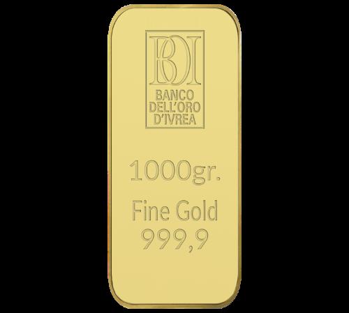 Lingotto 1000 grammi oro al miglior prezzo
