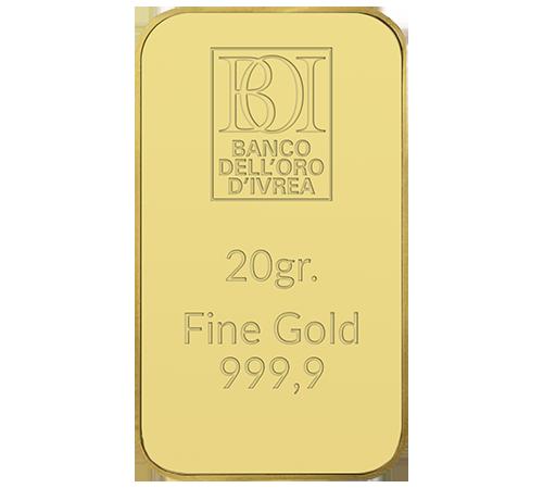 Lingotto 20 grammi oro al miglior prezzo