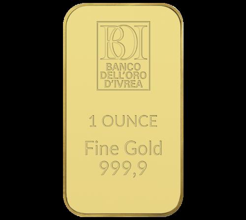 Lingotto 1 oncia oro al miglior prezzo