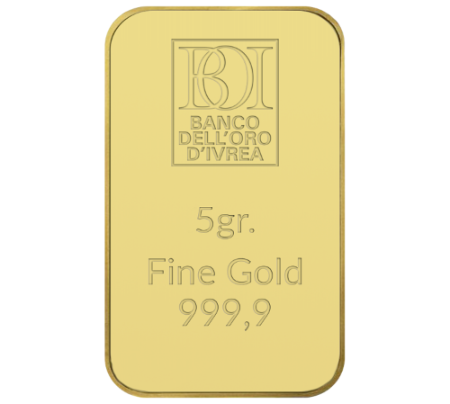 Lingotto 5 grammi oro al miglior prezzo