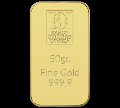 Lingotto 50 grammi oro al miglior prezzo