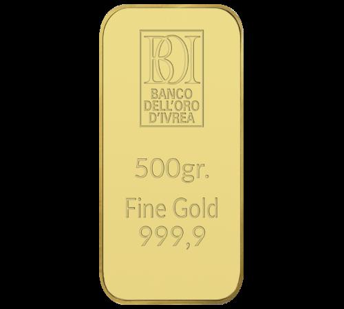 Lingotto 500 grammi oro al miglior prezzo